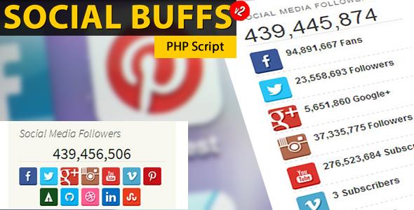 Social Buffs - PHP Script